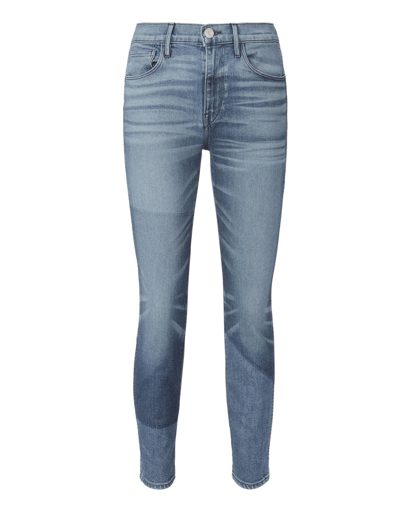 3x1 Shadow Authentic Cropped Jeans