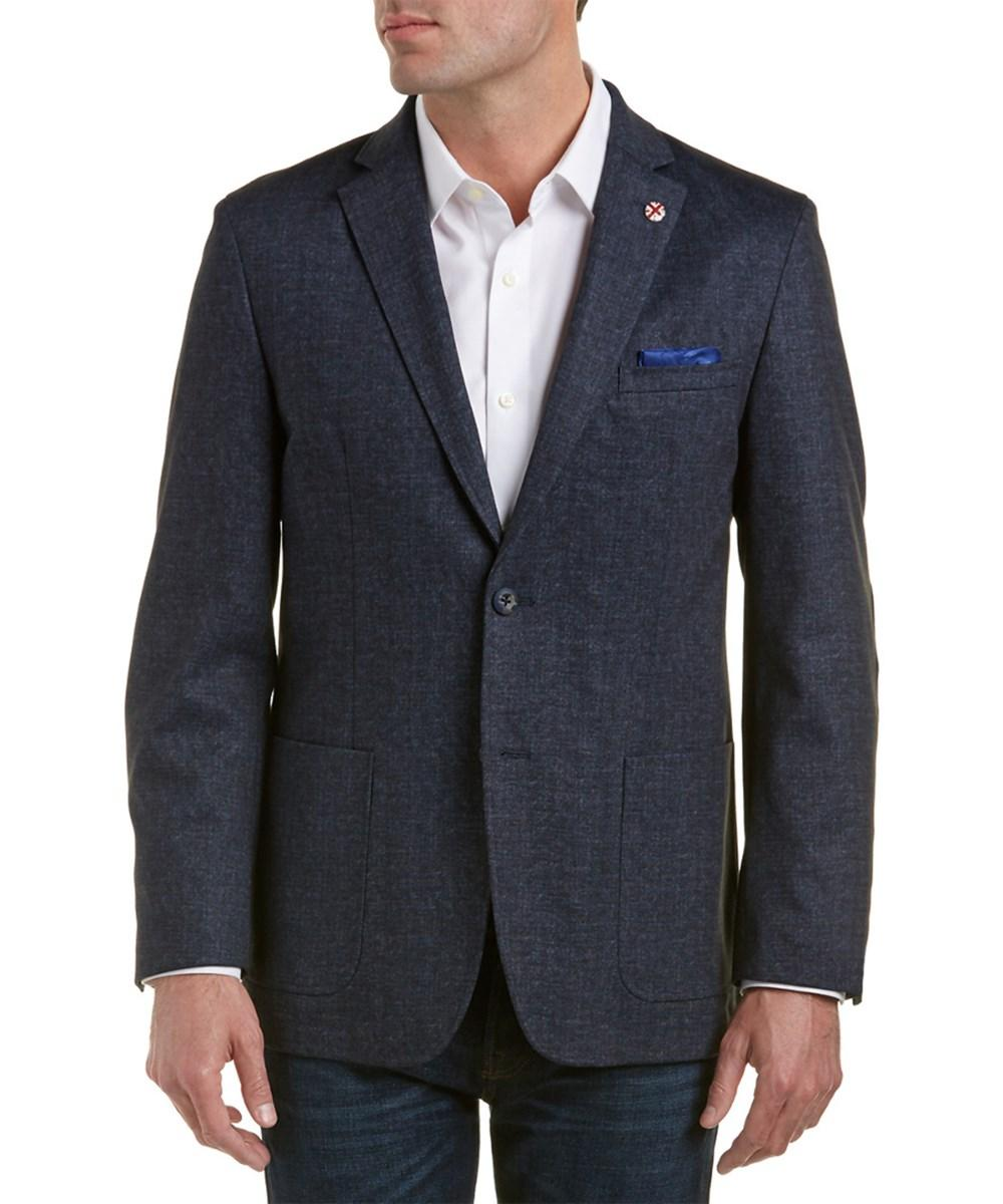 Ben Sherman Slim Fit Blazer In Navy