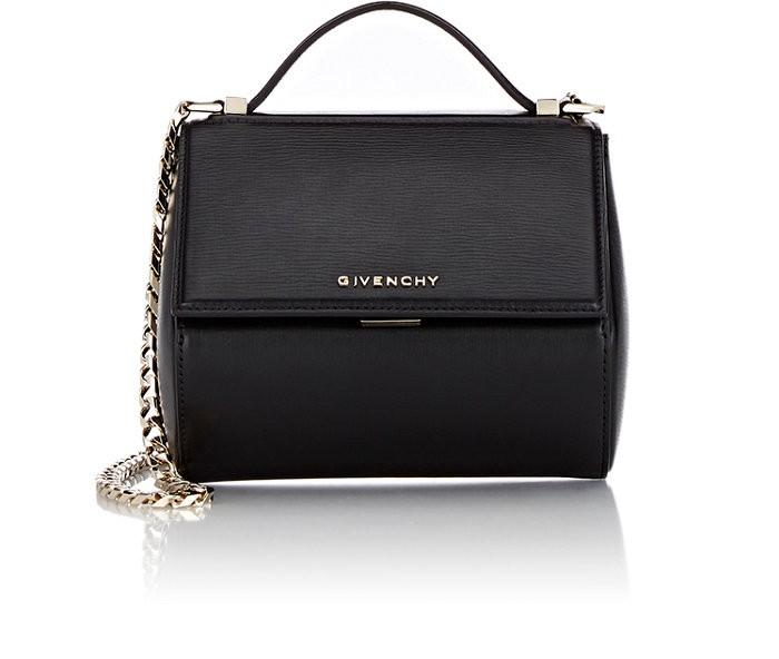 a33ac3d32c Givenchy  Mini Pandora Box - Palma  Leather Shoulder Bag - Black ...