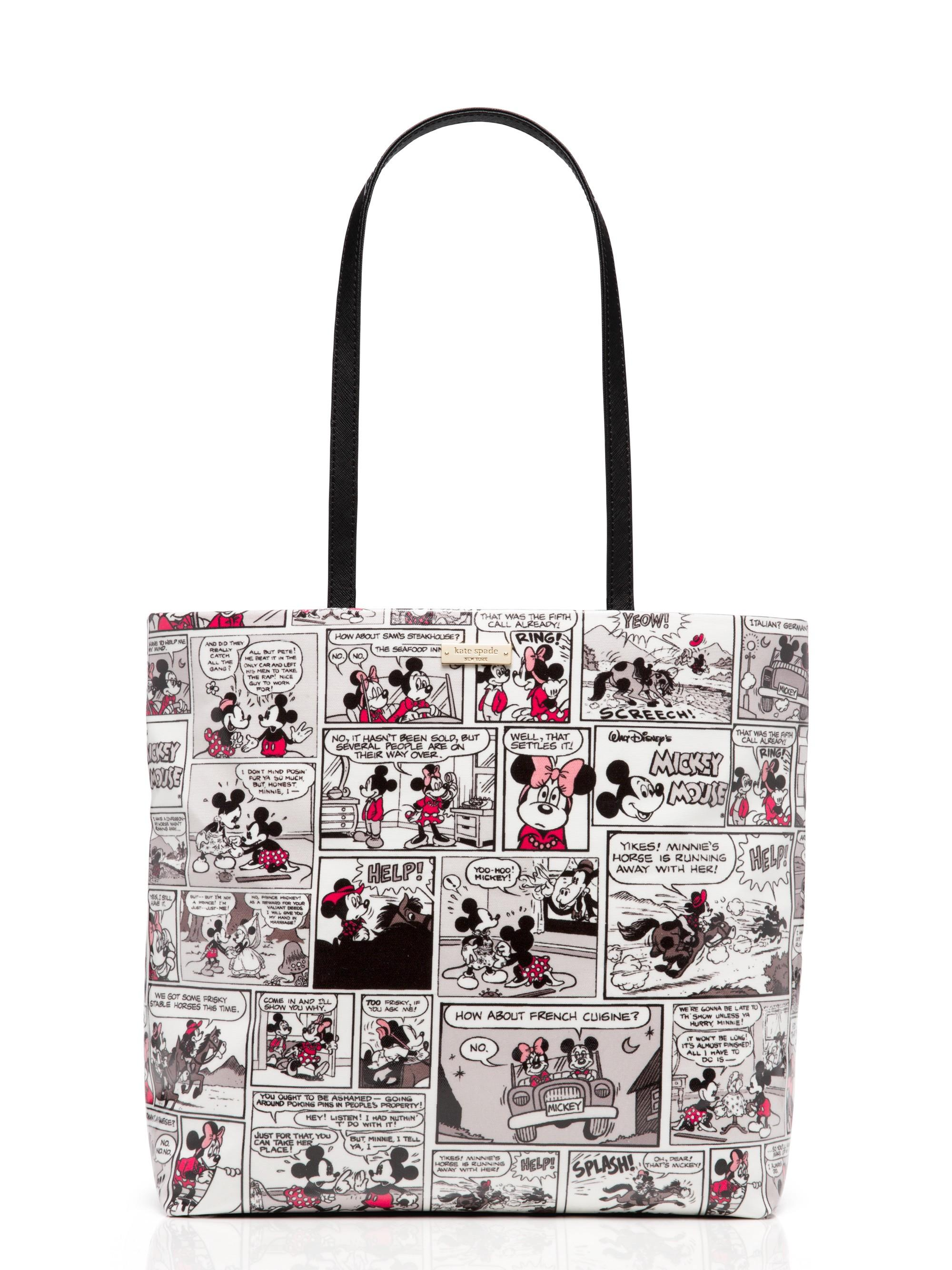 Kate Spade New York X Minnie Mouse Comic Tote In Multi