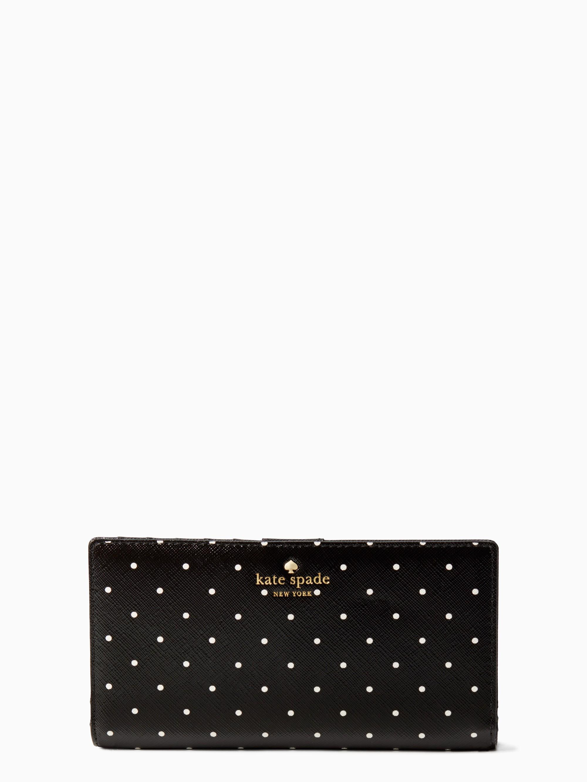 Kate Spade Brooks Drive Stacy In Black/cream