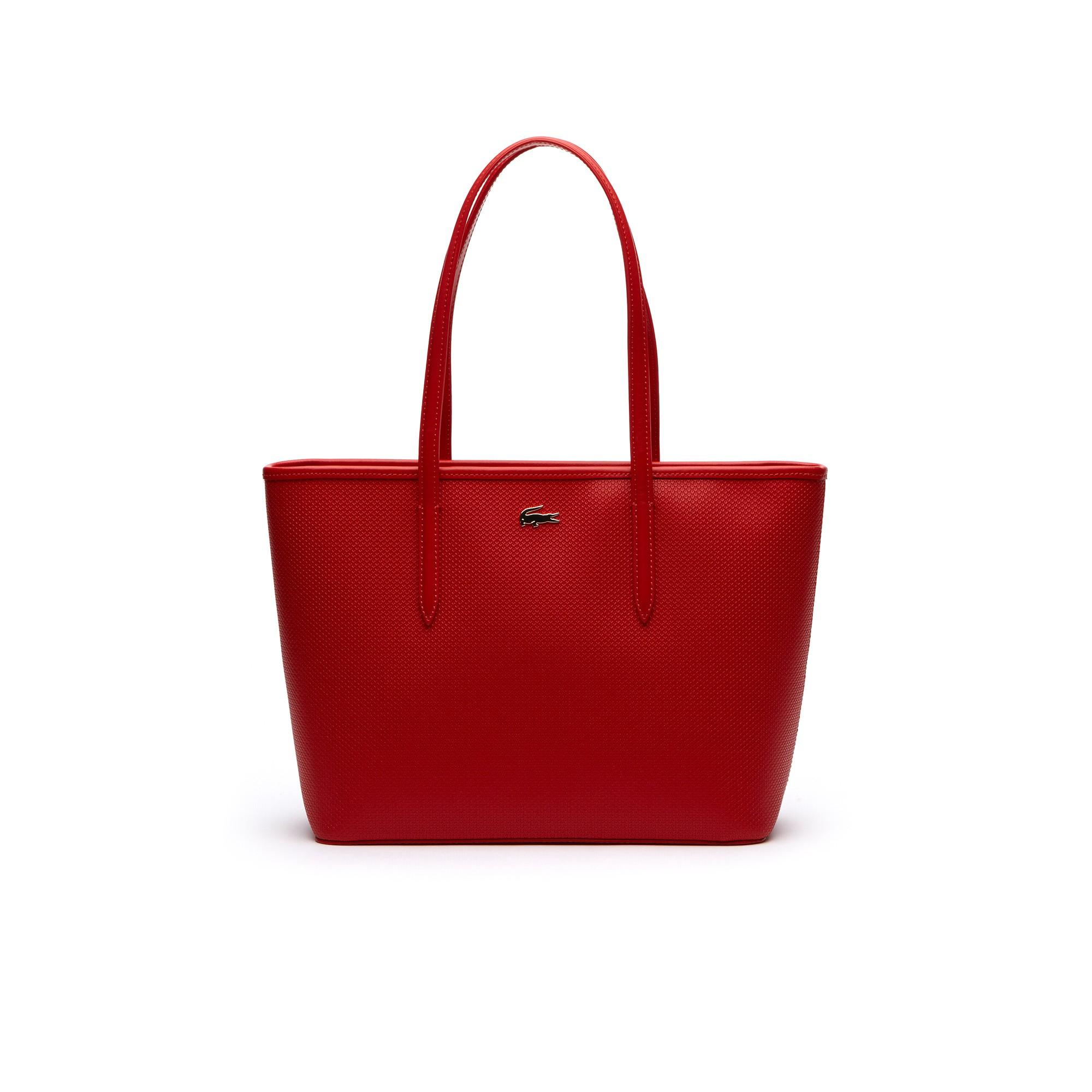 ce38c33951 Women's Chantaco Piqué Leather Tote Bag in High Risk Red