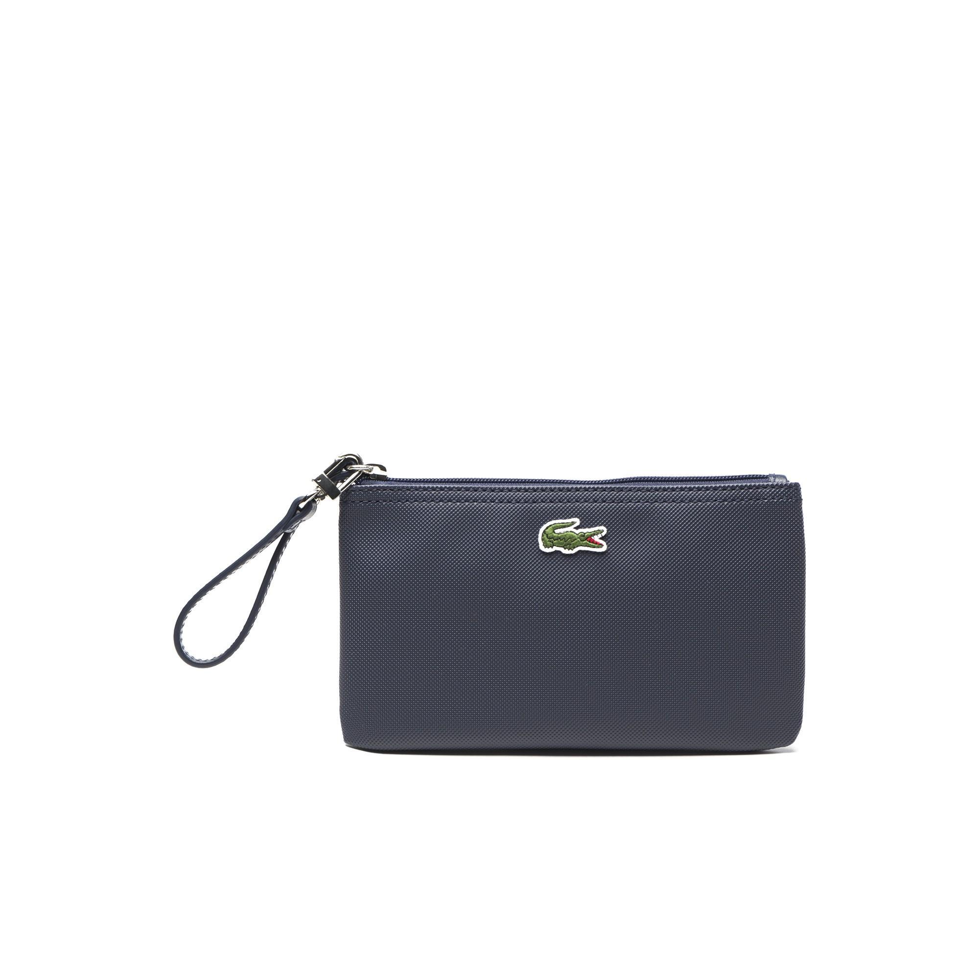 Lacoste Women's L.12.12 Concept Zip Clutch Bag In Eclipse