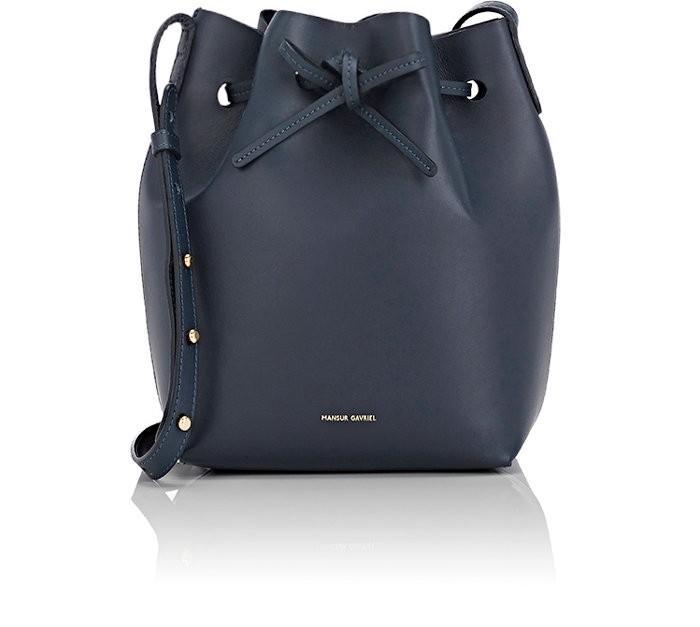 Mansur Gavriel 'mini' Leather Bucket Bag