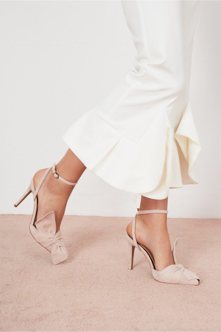 Jaggar Union Heel In Pale Pink