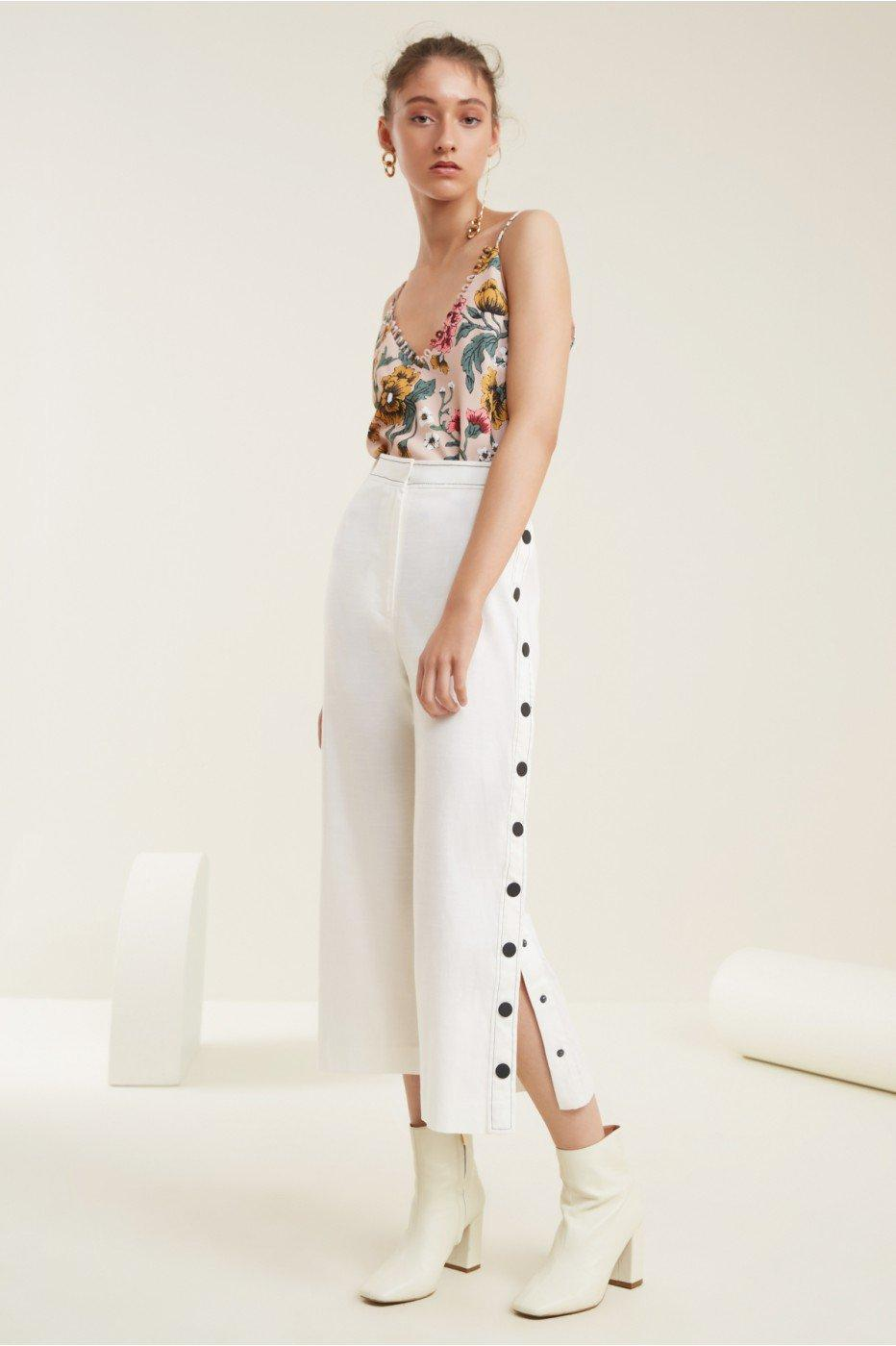 C/meo Collective Desire Pant In Ivory