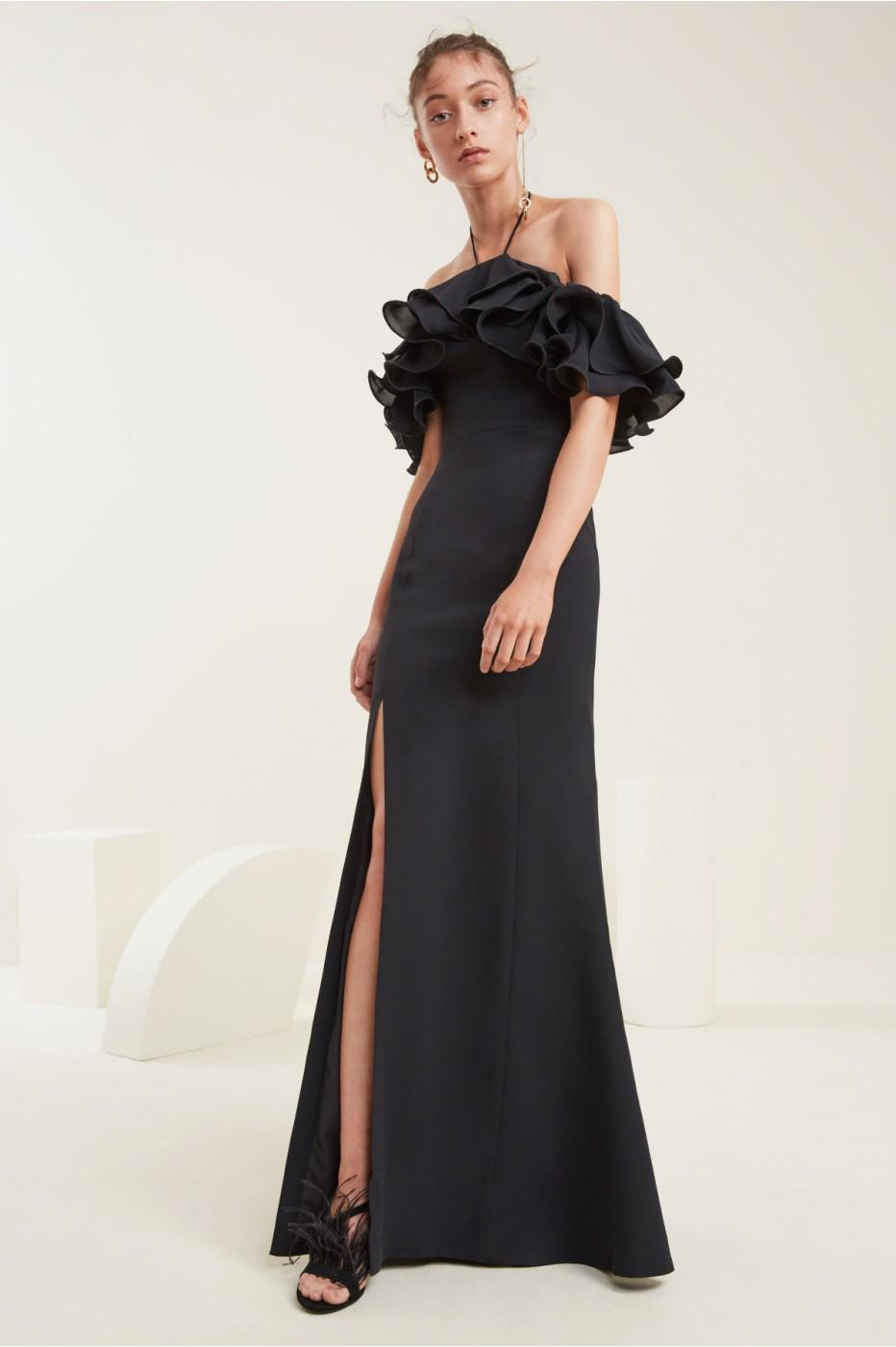 C/meo Collective Immerse Gown In Black