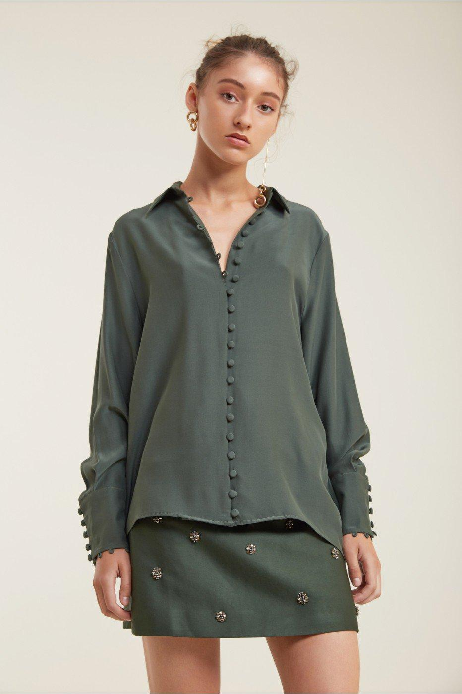 C/meo Collective Substance Shirt In Forest