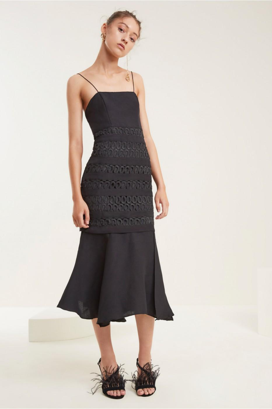C/meo Collective Aura Dress In Black