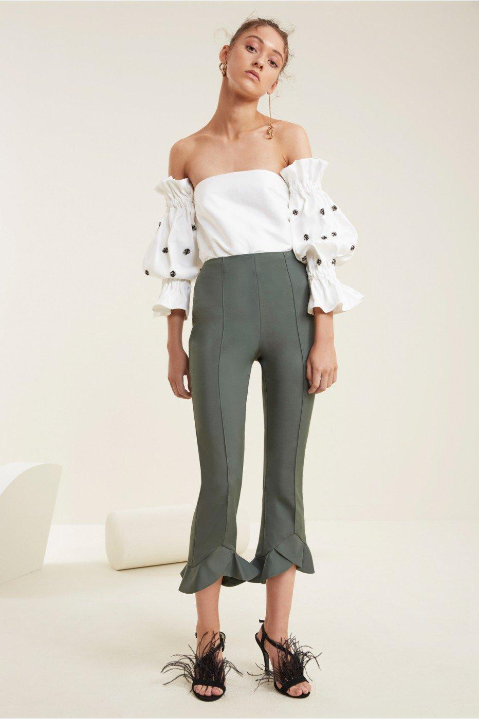 C/meo Collective Orbit Pant In Forest