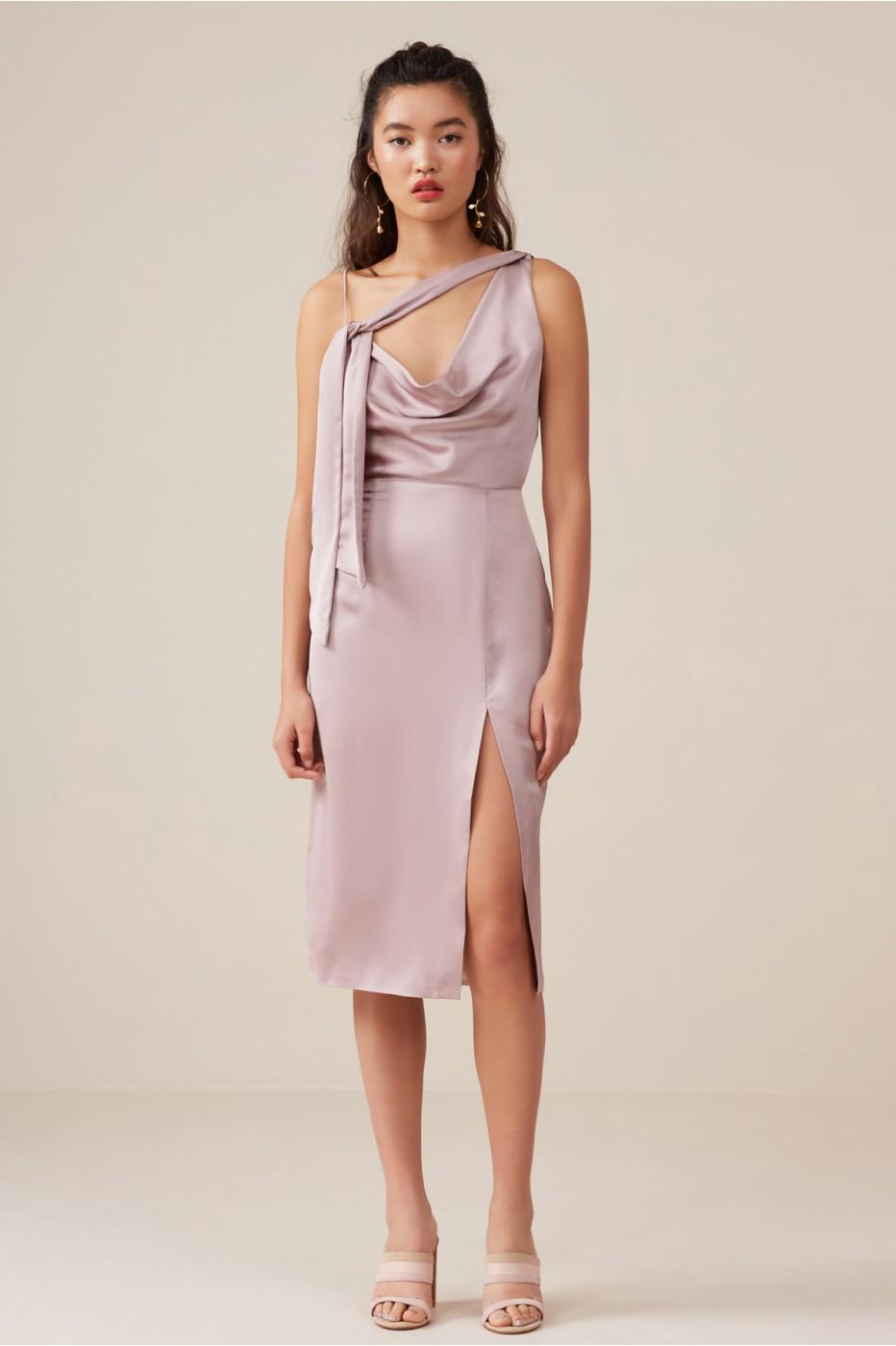 Finders Keepers Aspects Midi Dress In Dusk