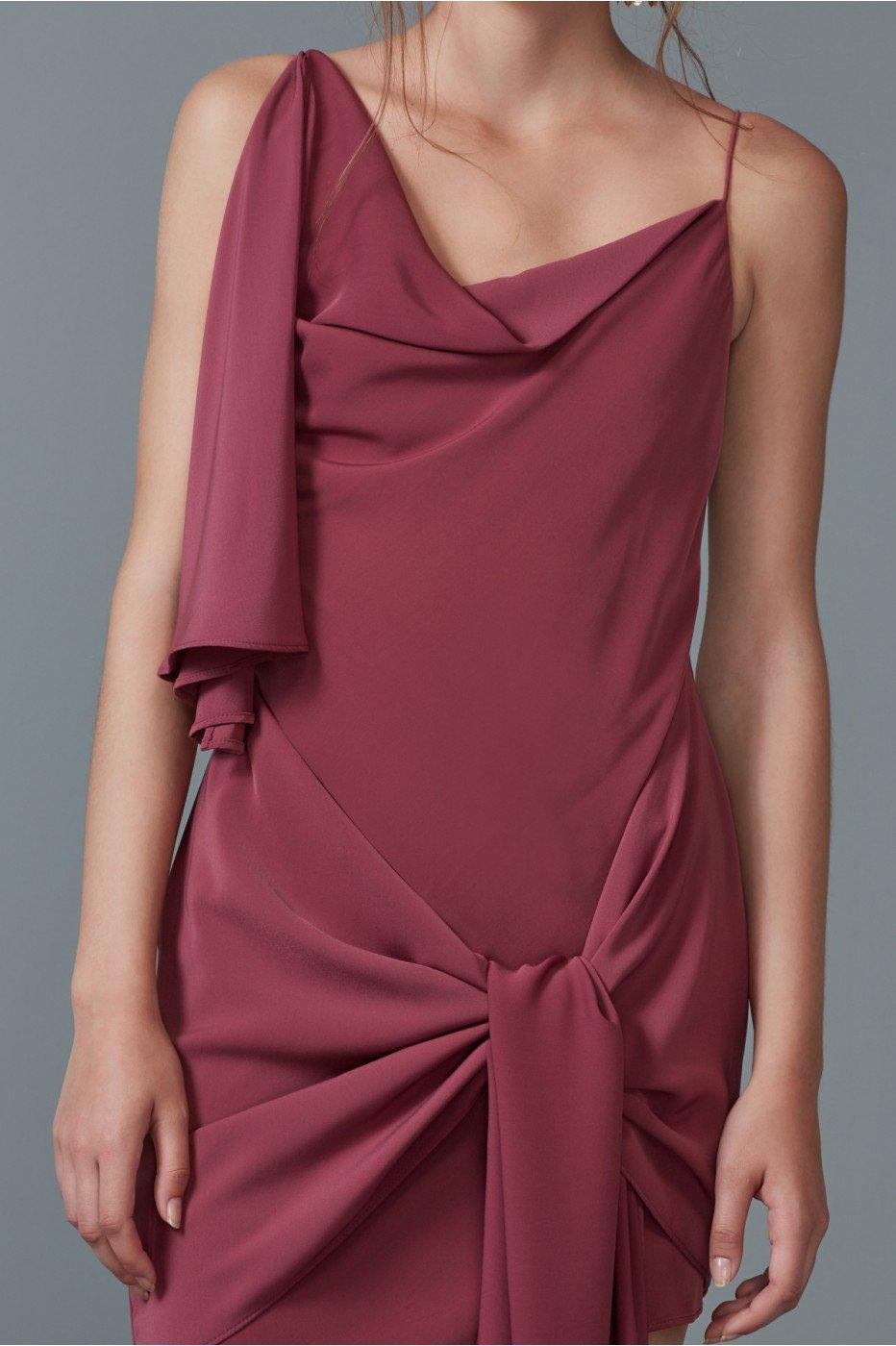 Keepsake Be Mine Mini Dress In Mulberry
