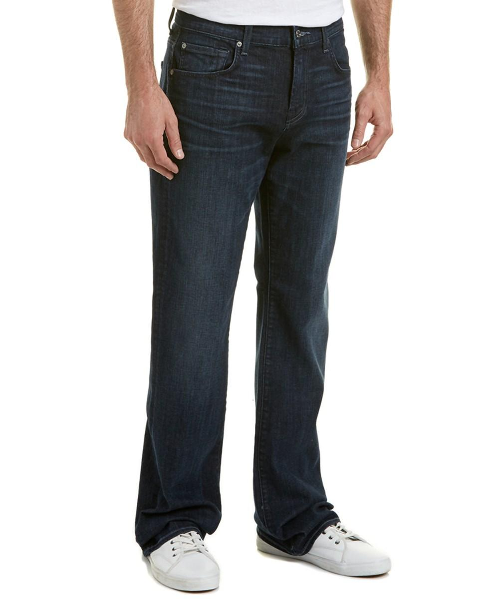 Seven For All Mankind 7 For All Mankind The Brett Olympic Blue Wash Modern Boot Cut In Denim
