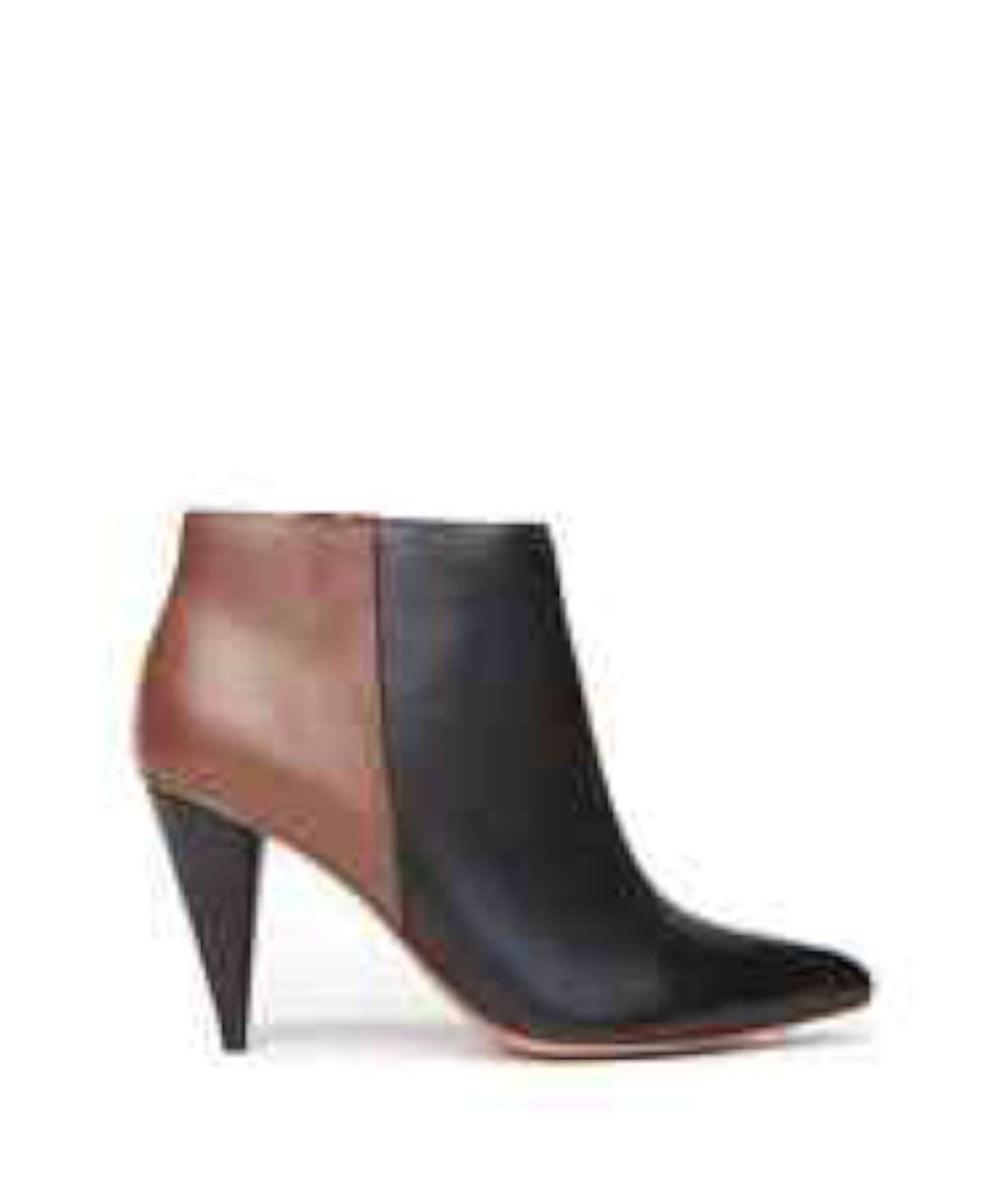 Dolce Vita Riko Leather Ankle Boot In Black