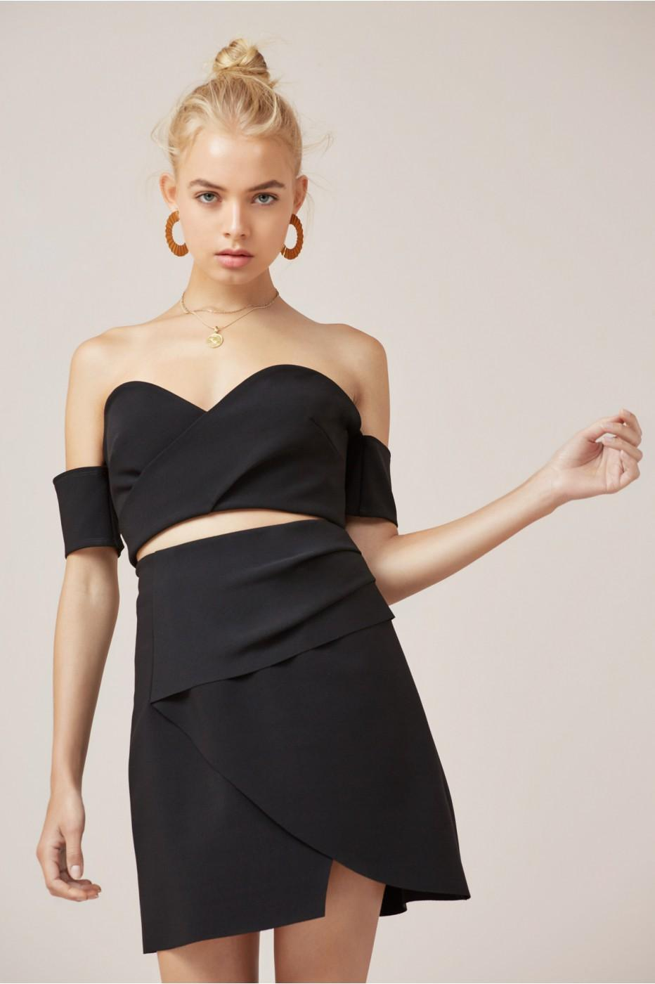 Finders Keepers Oblivion Bodice In Black