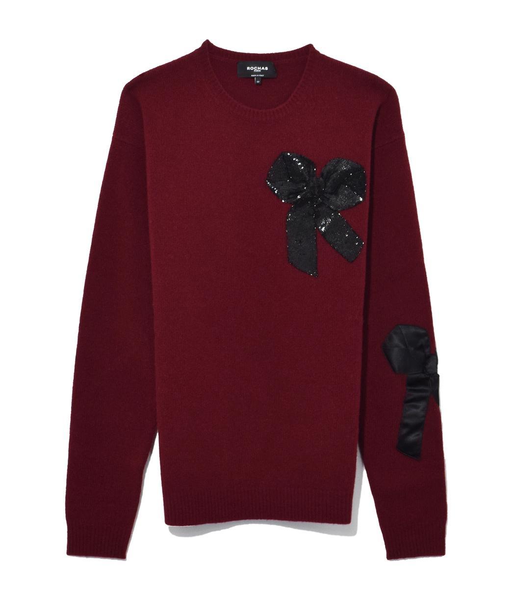 Rochas Medium Red Oversized Sweater
