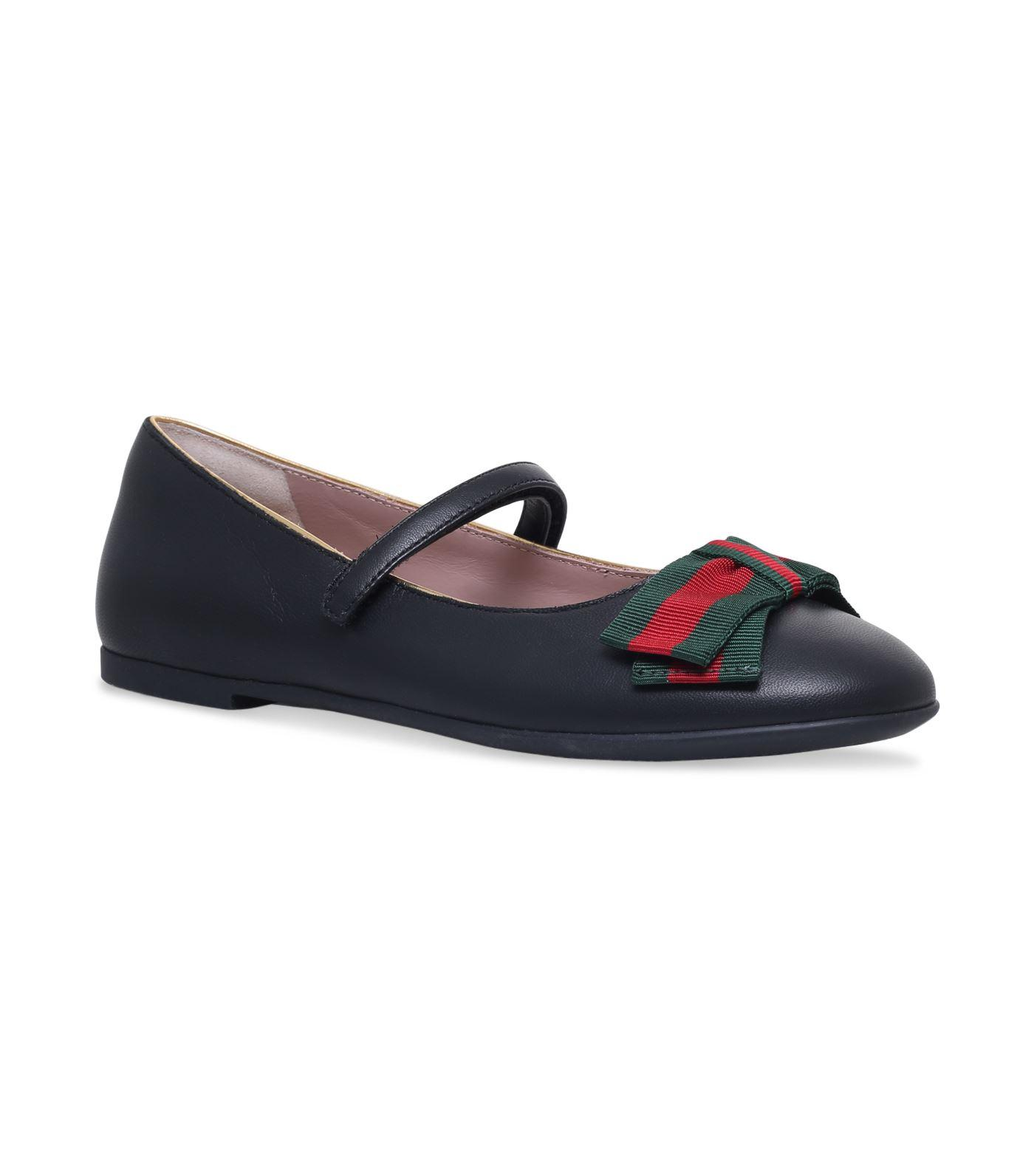 Gucci Camille Mary Jane Shoes In Black