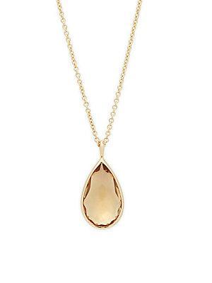 Ippolita Rock Candy 18k Yellow Gold Pendant Necklace