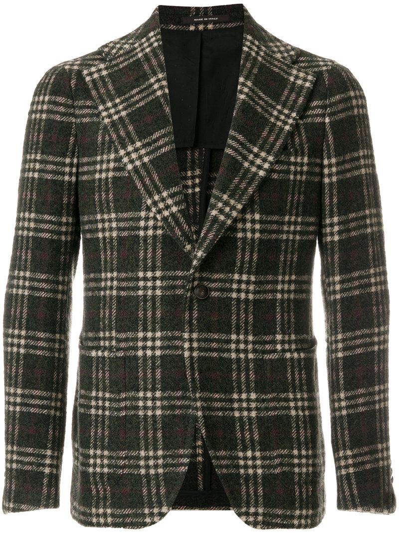 Tagliatore Checked Tailored Jacket