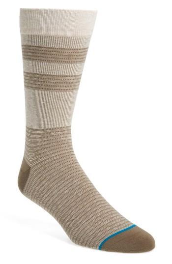 Stance Senator Socks In Tan