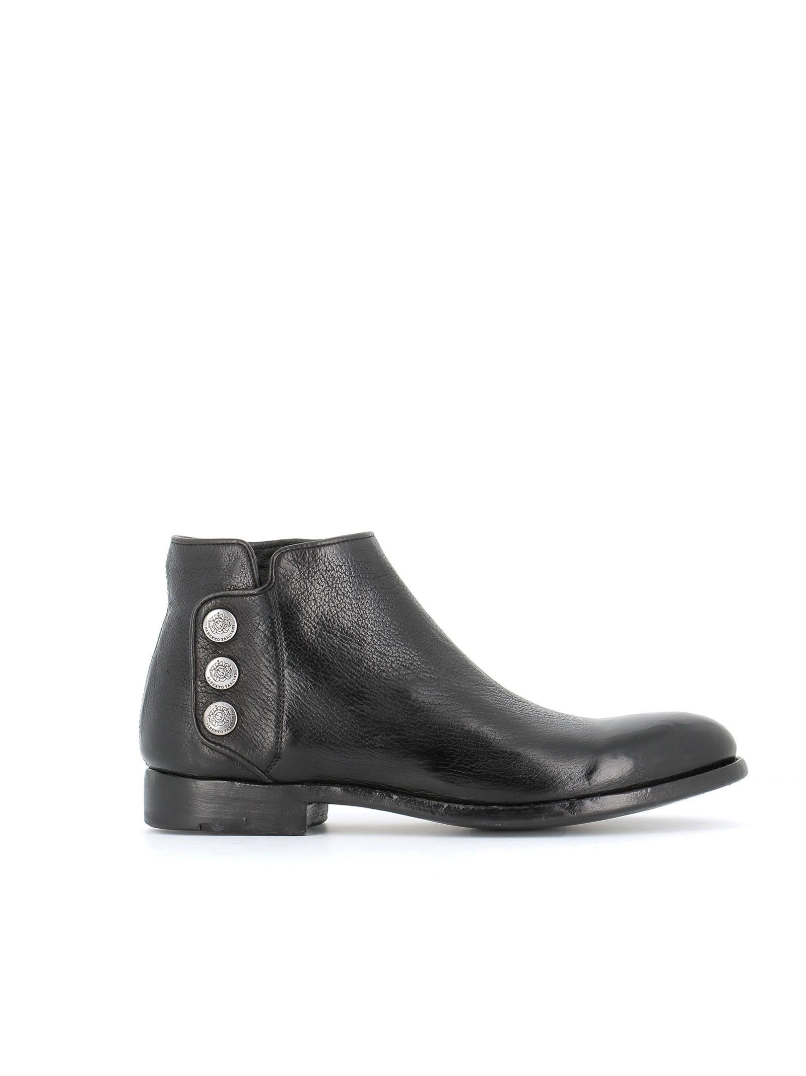 Alberto Fasciani Perla Boots In Black