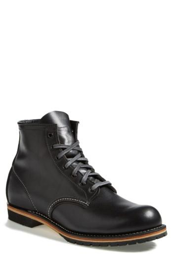 Red Wing 'beckman' Boot In Black Featherstone- 9014