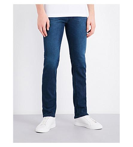 Diesel Belther Regular-fit Tapered Jeans In Dark Wash Blue