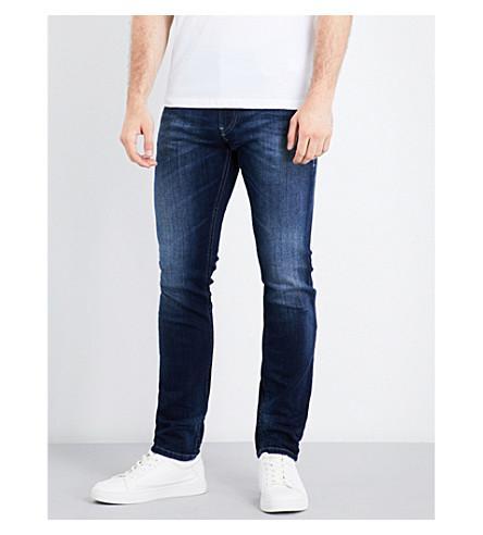 Diesel Thommer Slim-fit Skinny Jeans In Medium Wash Blue