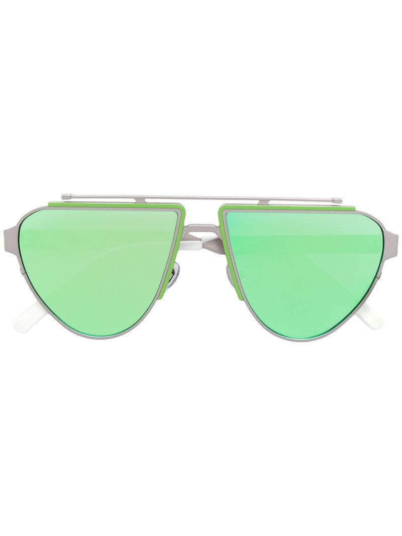 Irresistor Biker Geometric Frame Sunglasses