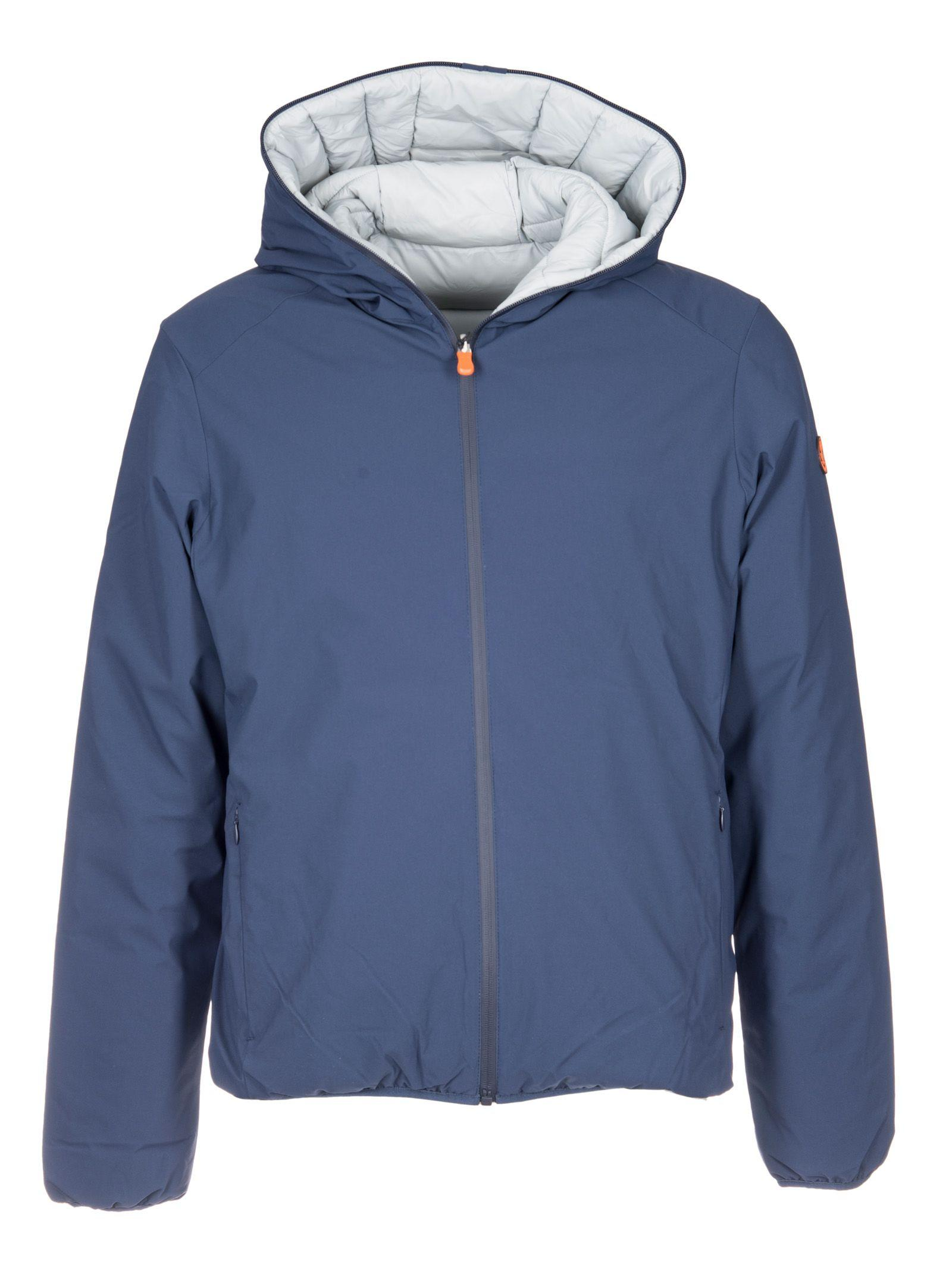 Save The Duck Zip-up Jacket In Blue