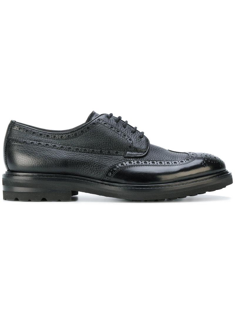 Henderson Baracco Platform Brogue Shoes