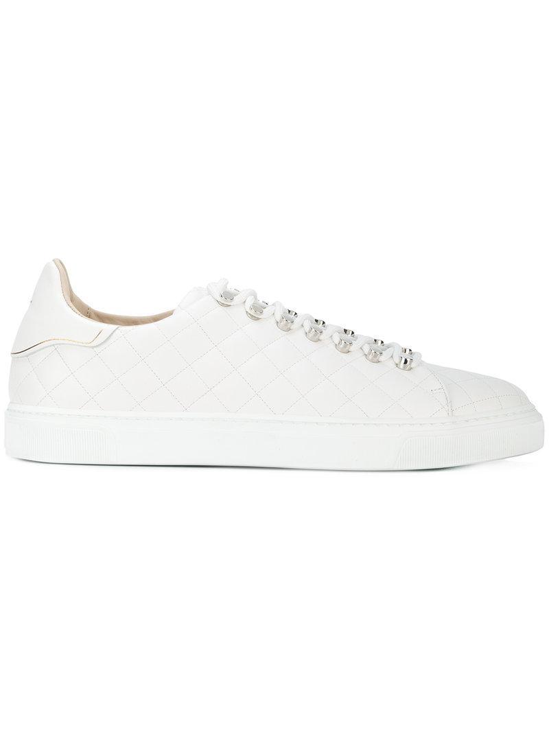 Louis Leeman Quilted Detail Sneakers