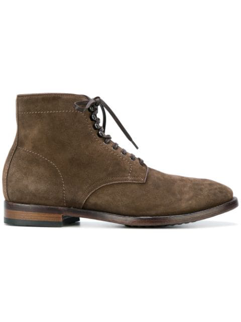 Officine Creative Princeton Boots In Brown