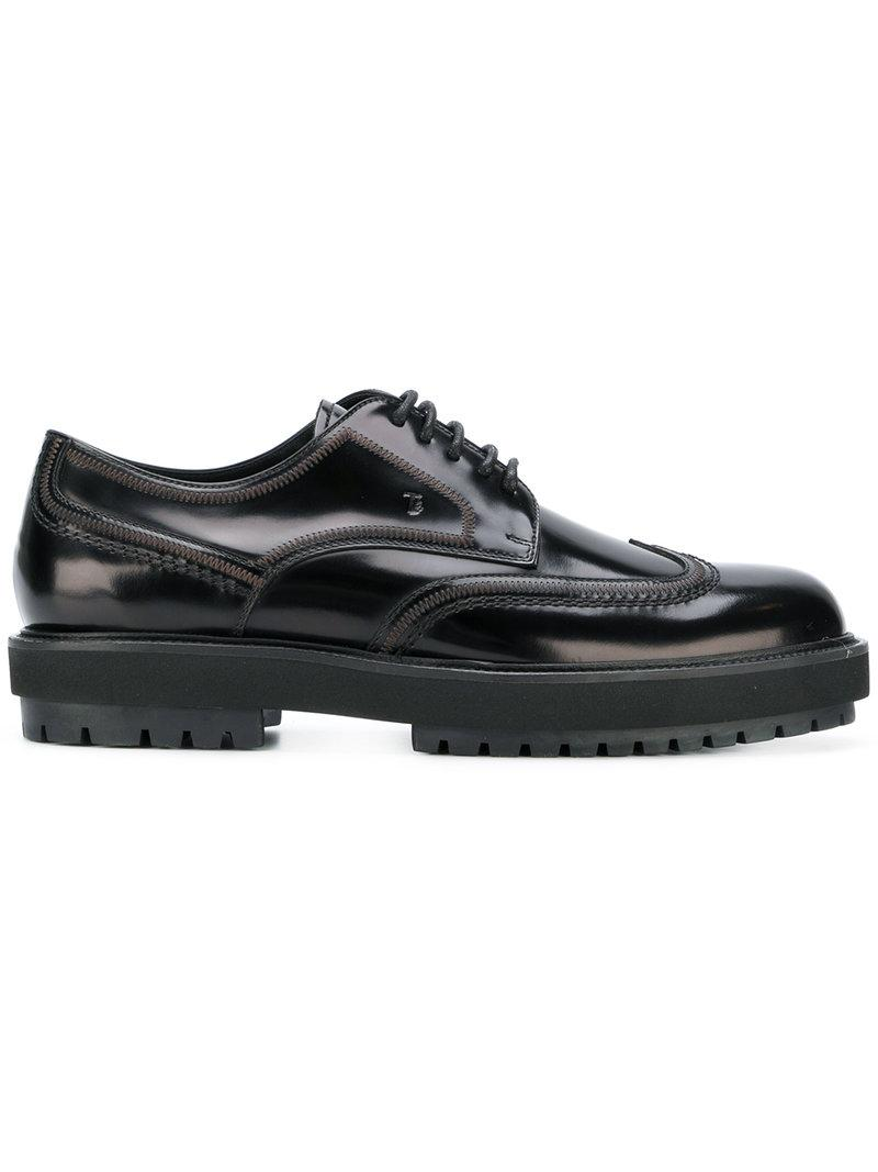 Tod's Lug Sole Derby Shoes