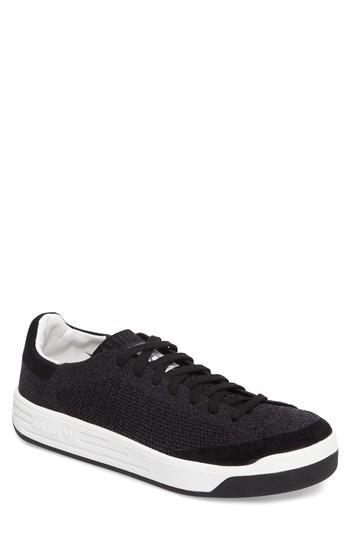 Adidas Originals Rod Laver Super Primeknit Sneaker In Core Black/ White