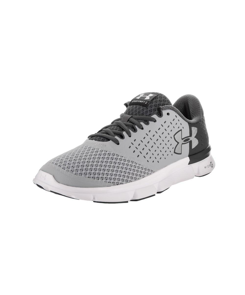 Under Armour Men's Micro G Speed Swift 2 Running Shoe In Grey