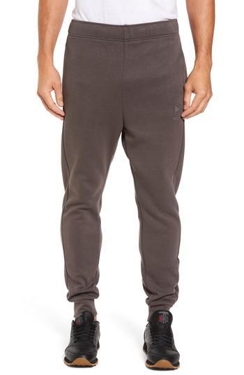 Reebok Knit Jogger Sweatpants In Urban Grey