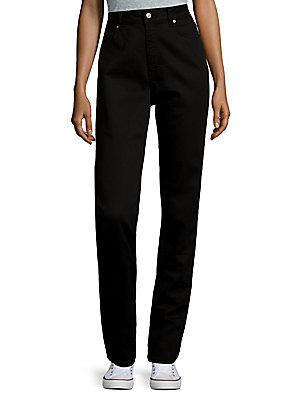 Escada Buttoned Jeans In Black