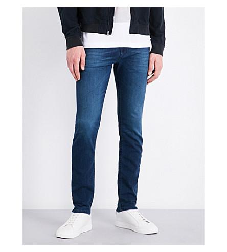 Diesel Thommer Slim-fit Skinny Jeans In Dark Wash Blue