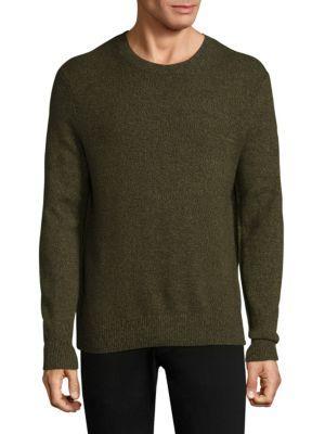 Rag & Bone Haldon Cashmere Crewneck Sweatshirt In Army