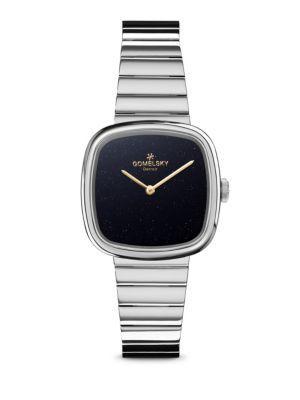 Shinola Eppie Sneed Stainless Steel Bracelet Watch In Silver