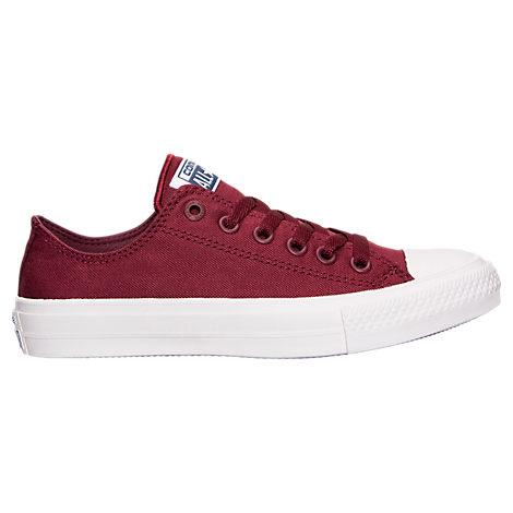 Converse Women's Chuck Taylor Ii Ox Casual Shoes, Red