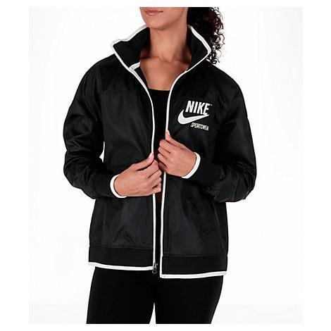Nike Women's Sportswear Archive Track Jacket, Black