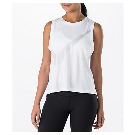Nike Women's Dry Running Tank, White