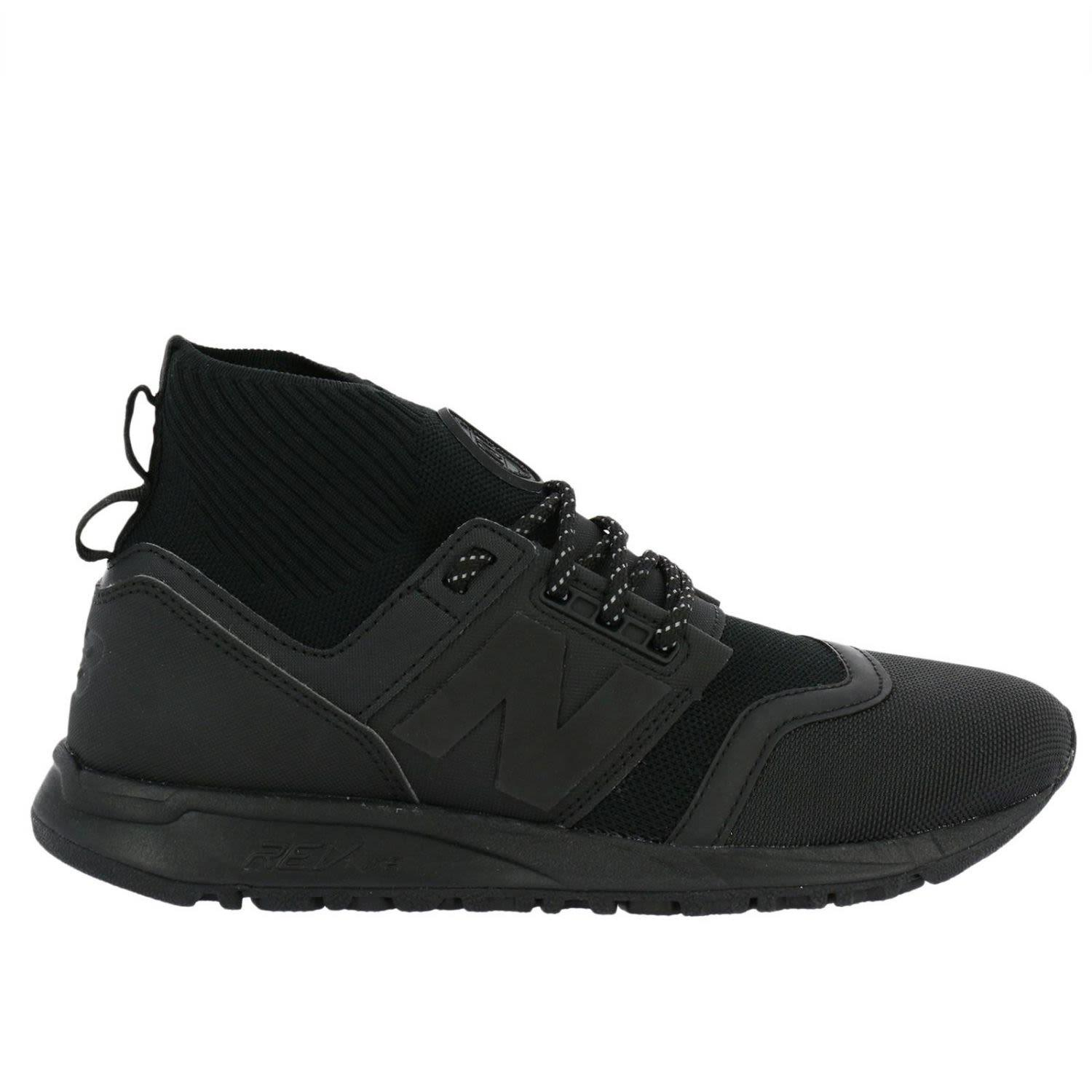Men's 247 Mid Casual Sneakers From Finish Line In Black