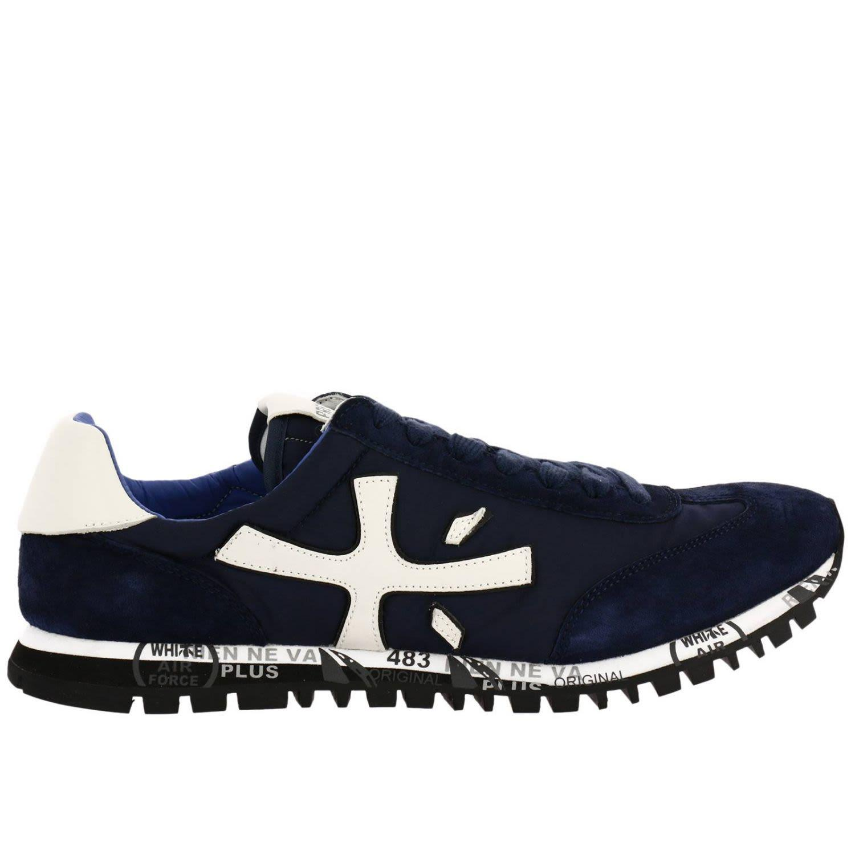 Premiata Sneakers Shoes Men  In Blue