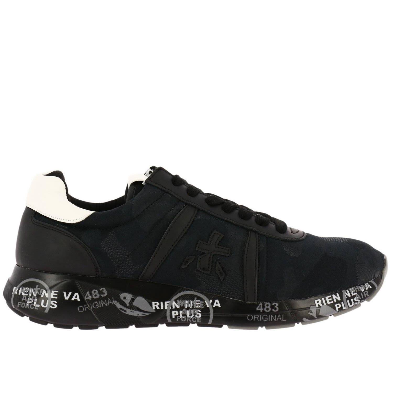 Premiata Sneakers Shoes Men  In Black