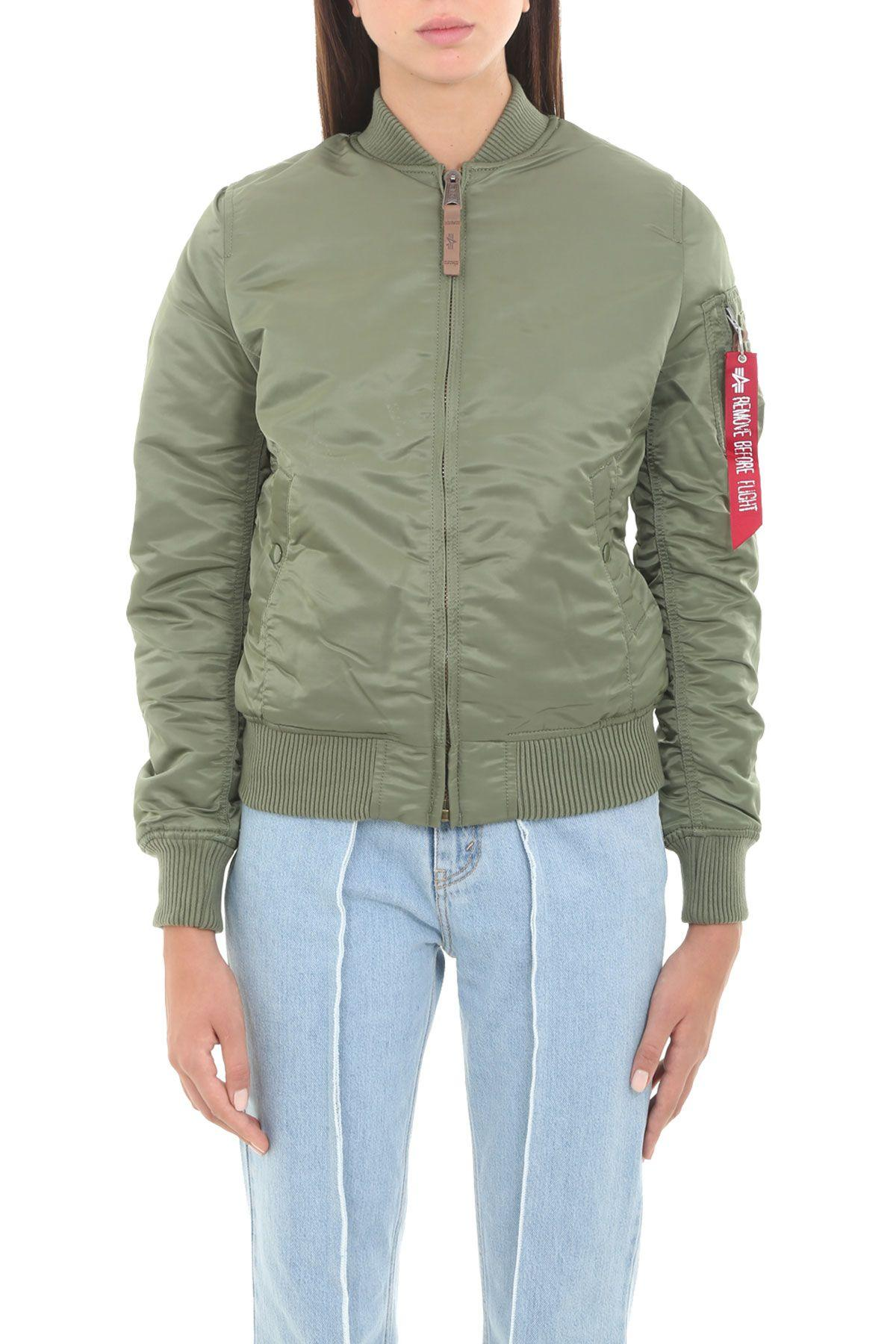 Alpha Industries Ma-1 Vf 59 In Verde