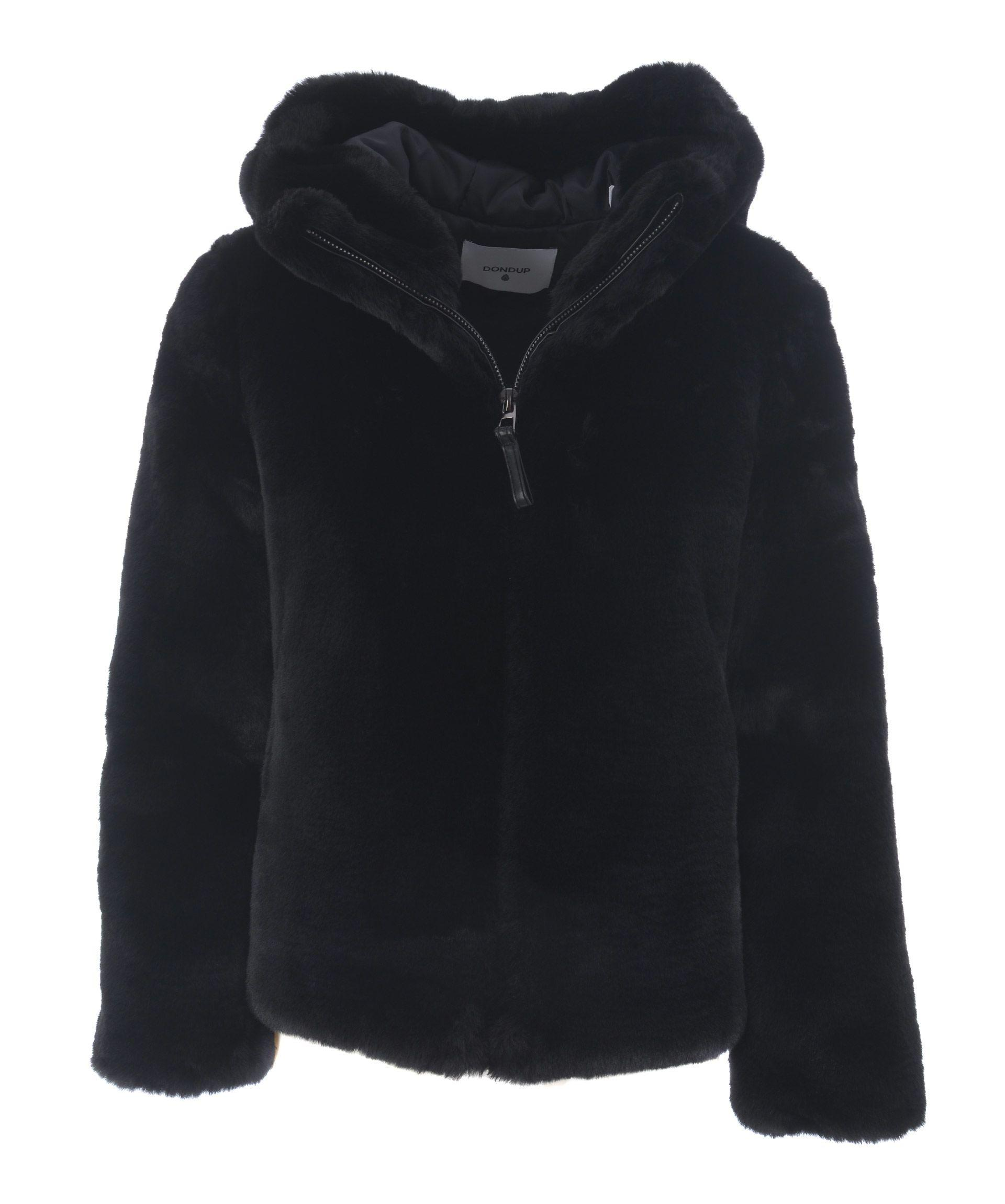 Dondup Zipped Jacket In Nero