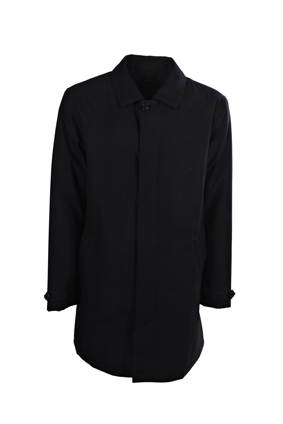 Ermenegildo Zegna Jacket In Bdk Blu